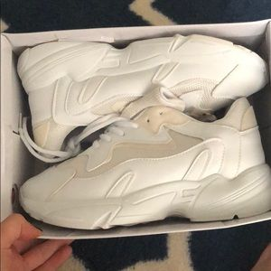 Shoes - White chunky trainers! Brand new